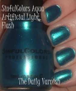 SinfulColors Aqua
