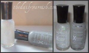 Sally Hansen - Wet Cement & Disco Ball