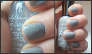 Sally Hansen - Wet Cement/DiscoBall