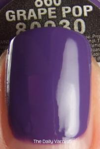China Glaze Grape Pop MACRO