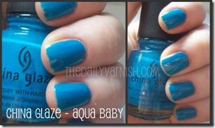 China Glaze - Aqua Baby