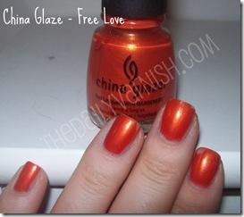 China Glaze - Free Love