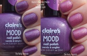 Claire's Mood Nail Polish calm wild
