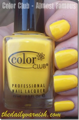 Color Club - Almost Famous