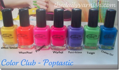 Color Club - Poptastic!