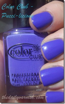 Color Club - Pucci-licious