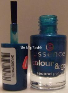 Essence brush and bottle