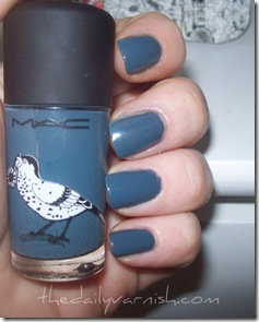 MAC - Blue India