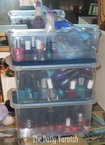 Nail Polish storage fail