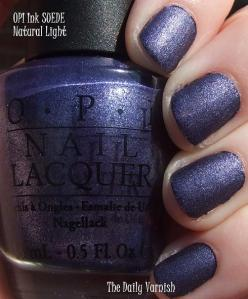 OPI Ink SUEDE