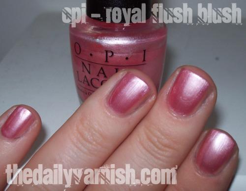 OPI - Royal Flush Blush