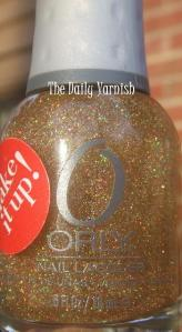 Orly Prisma Gloss Gold bottle