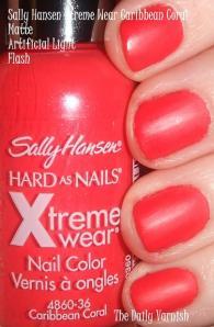 Sally Hansen Xtreme Wear Caribbean Coral matte