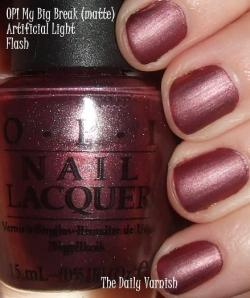 OPI My Big Break (matte)