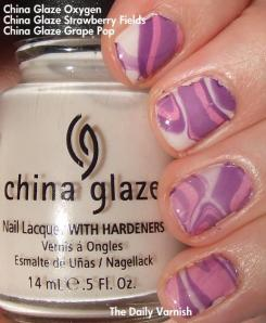 Water Marble China Glaze Oxygen