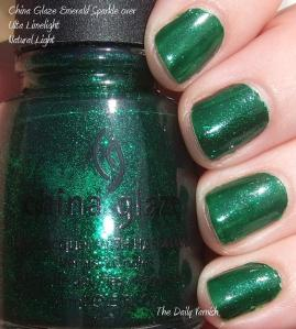 China Glaze Emerald Sparkle Ulta Limelight