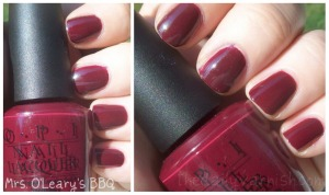 OPI - Mrs. O'Leary's BBQ