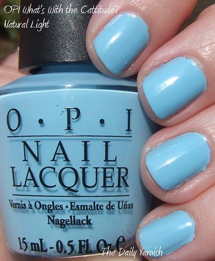 OPI What\'s With the Cattitude? | The Daily Varnish
