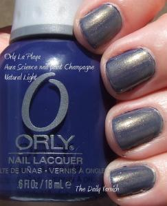 Orly La Playa Aura Science Champagne