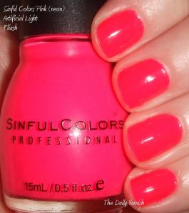 SinfulColors Pink neon