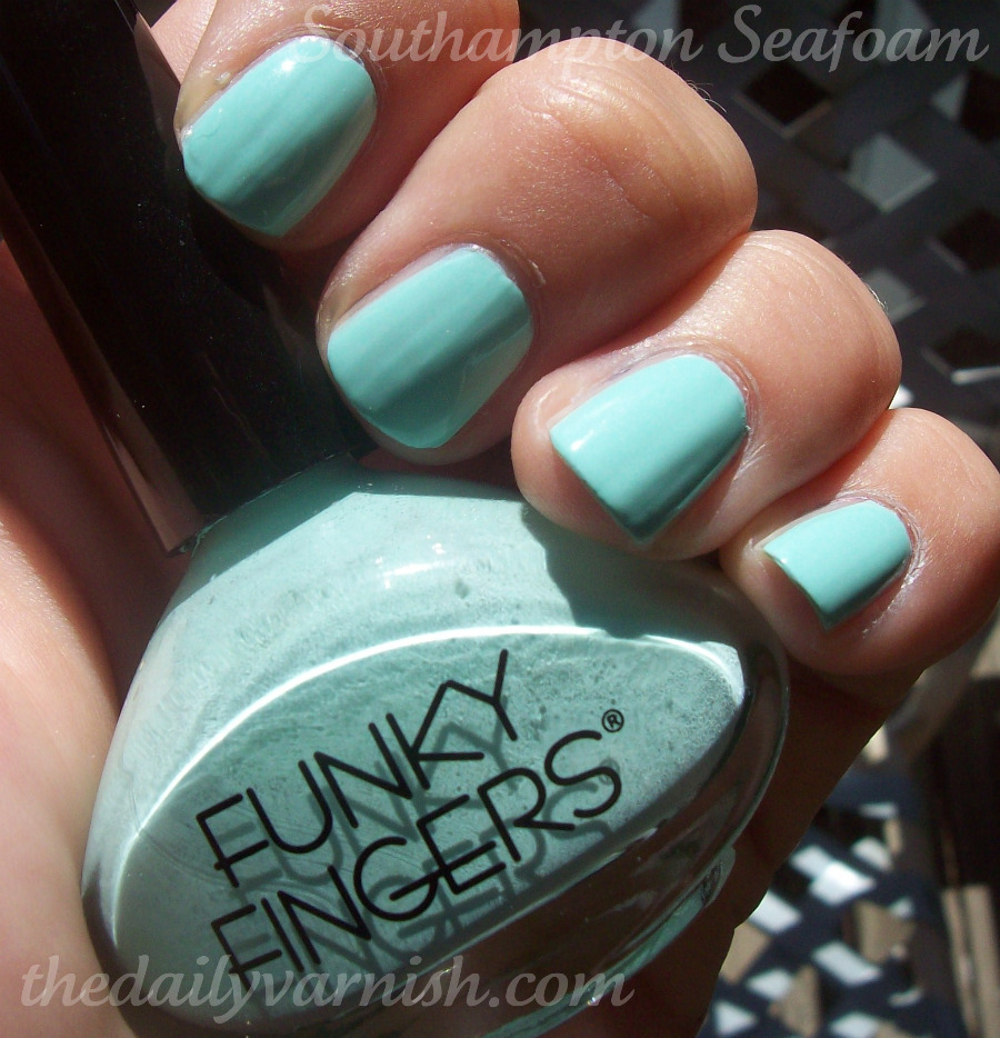 Funky Fingers – Southampton Seafoam – The Daily Varnish