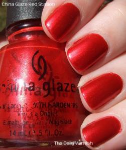 China Glaze Red Stallion