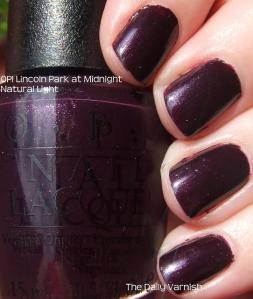 OPI Lincoln Park at Midnight