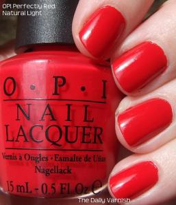 OPI Perfectly Red