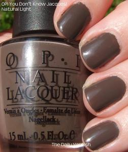 OPI You Don't Know Jacques!