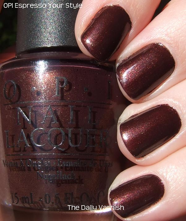 OPI Espresso Your Style | The Daily Varnish