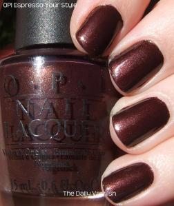 OPI Espresso Your Style