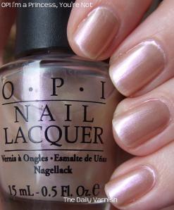 OPI I'm a Princess, You're Not!