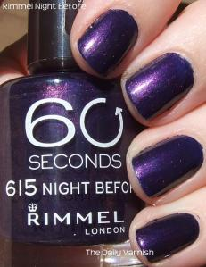 Rimmel Night Before