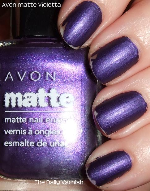 Avon Matte Violetta | The Daily Varnish