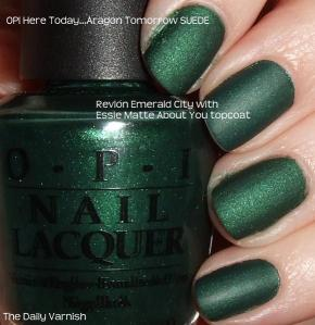 OPI Here Today Revlon Emerald City