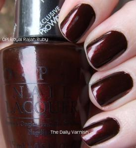OPI Royal Rajah Ruby