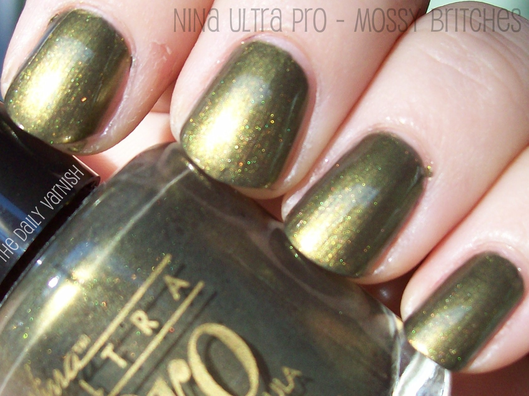 Nina Ultra Pro – Mossy Britches – The Daily Varnish