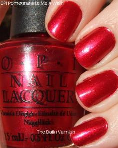 OPI Pomegranate Me a Wish