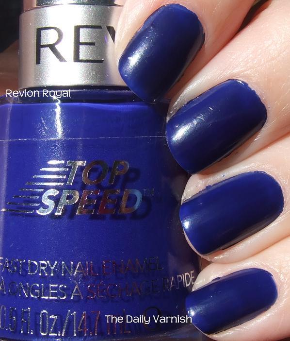 Revlon Top Speed Royal – The Daily Varnish