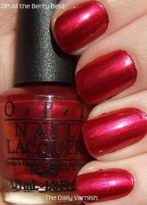OPI All the Berry Best