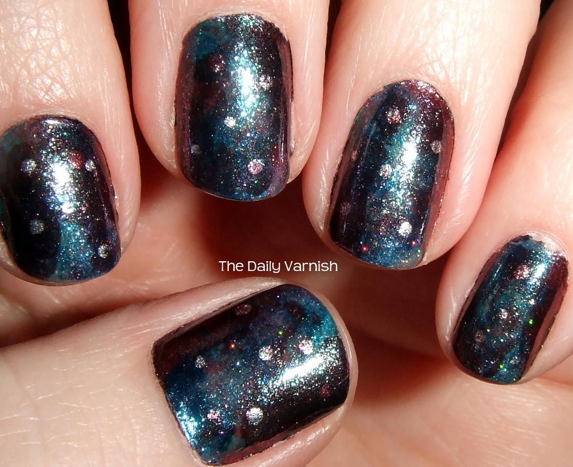 Galaxy Nails – The Daily Varnish