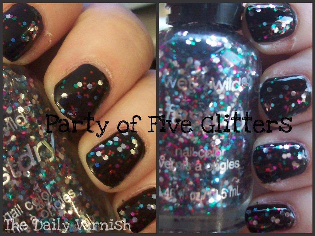 Wet n Wild fastdry – Ebony Hates Chris (+ Party of 5 Glitters ...