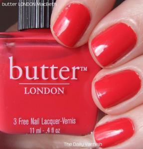 butter LONDON MacBeth