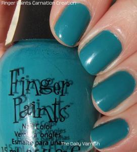 Finger Paints Carnation Creation