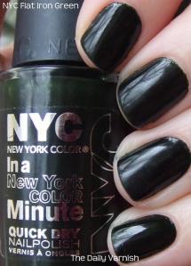 NYC Flat Iron Green
