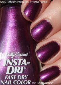 Sally Hansen Pronto Purple