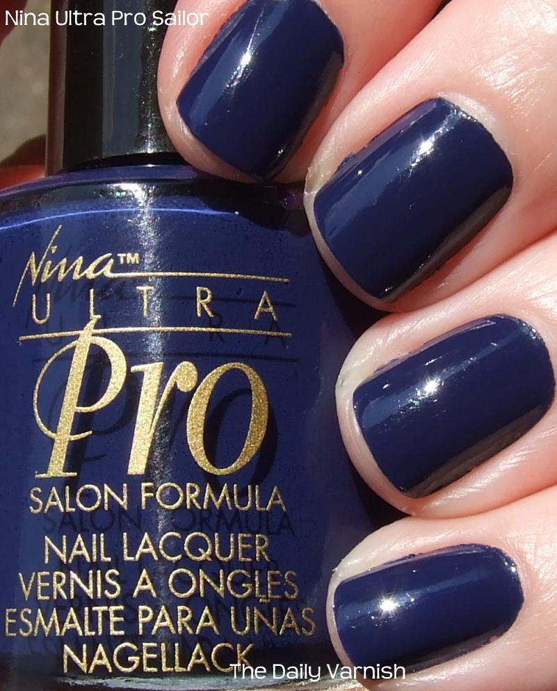 Nina Ultra Pro Sailor – The Daily Varnish