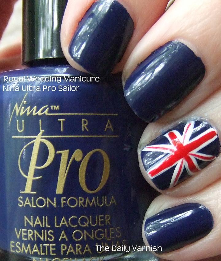 Royal Wedding Manicure | The Daily Varnish