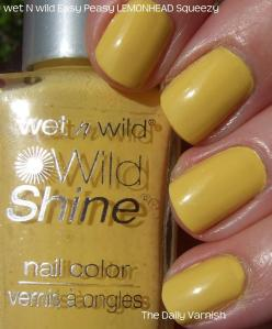 Wet n Wild Easy Peasy LEMONHEAD Squeeze