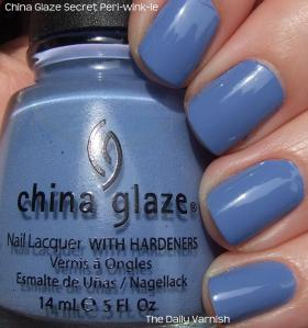 China Glaze Secret Peri-wink-le